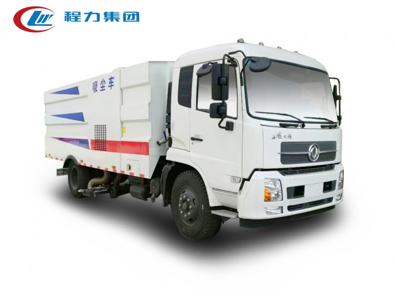 东风天锦12方吸尘车图片