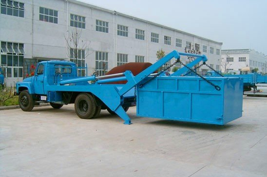 摆臂垃圾车垃圾斗 垃圾箱 垃圾厢 摆臂式垃圾车专用图片一