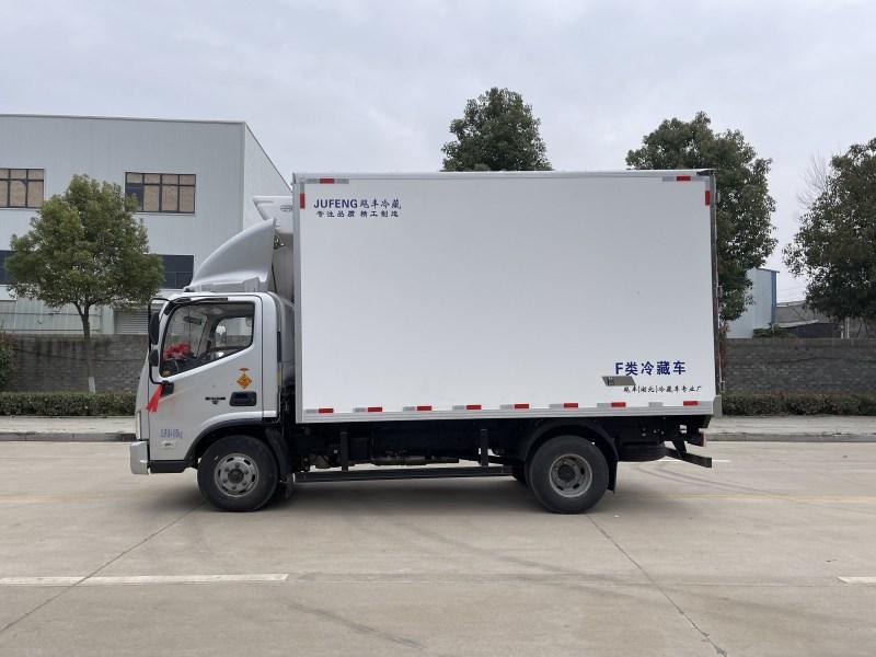 国六福田欧马可4.2米冷藏车图片二