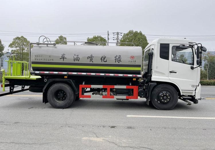 东风天锦12方绿化喷洒车厂家价格16.9万