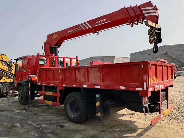 三环T3创客三一8吨随车吊