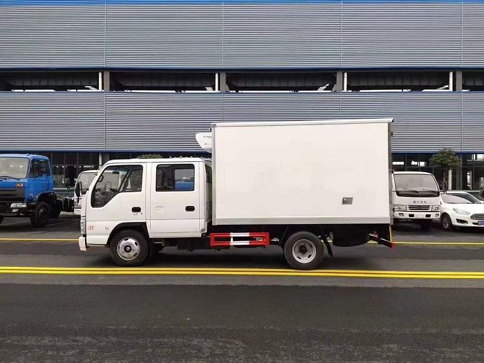 五十铃双排座冷藏车图片三