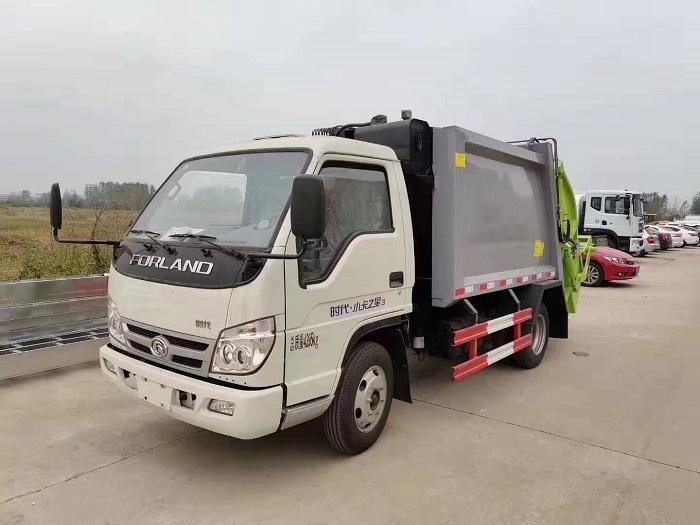 福田时代小卡之星压缩式垃圾车的特点