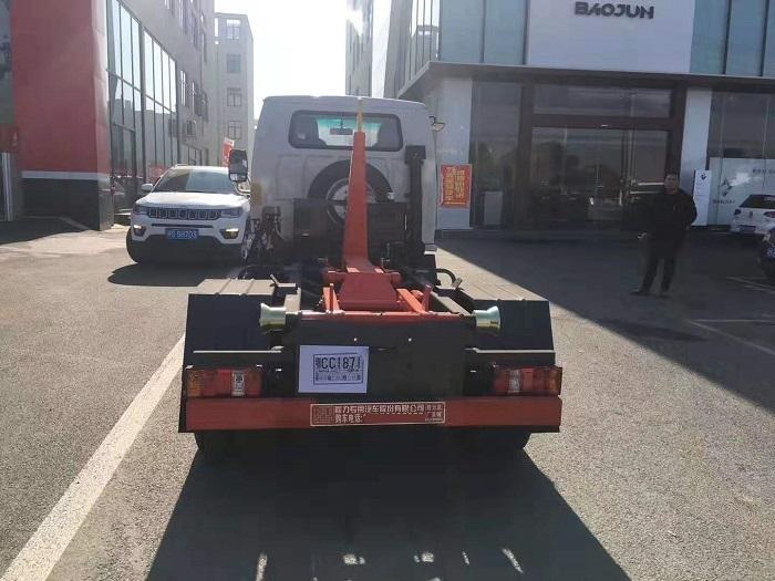 凯马国六3方勾臂式垃圾车