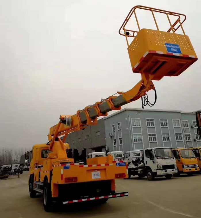 28米天锦伸缩式高空作业车