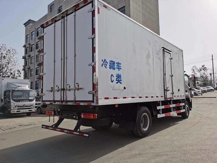 欧马可S5国五6.6米冷藏车图片五