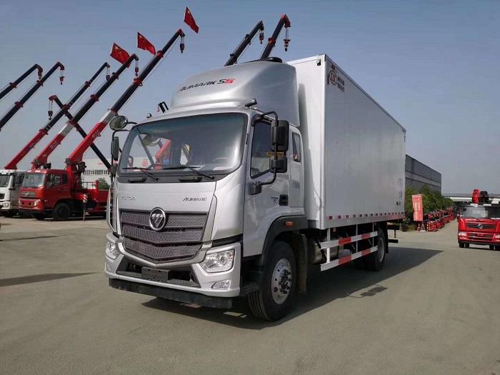 欧马可S5国五6.6米冷藏车图片七