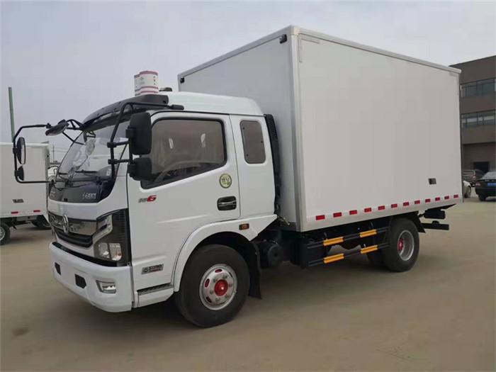 东风凯普特冷藏车(厢长3.8米)图片一