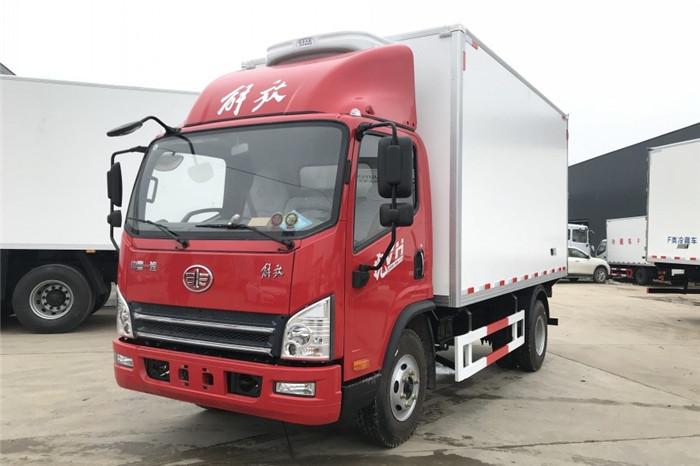 解放虎VH(重载版)冷藏车(厢长4米1)