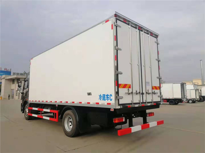 新款青岛解放龙VH冷藏车,容积:41m³图片四