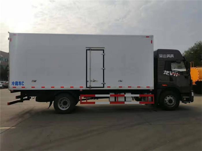 新款青岛解放龙VH冷藏车,容积:41m³图片六
