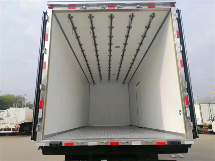 新款青岛解放龙VH冷藏车,容积:41m³图片八