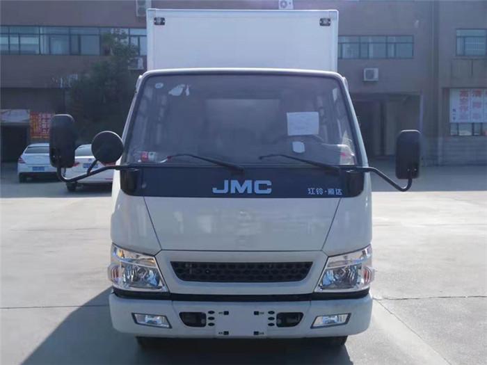 江铃顺达双排座冷藏车(厢长3.2米)图片二