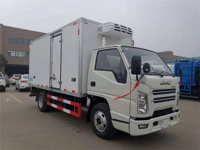 国六江铃顺达冷藏车(厢长4.2米)图片三