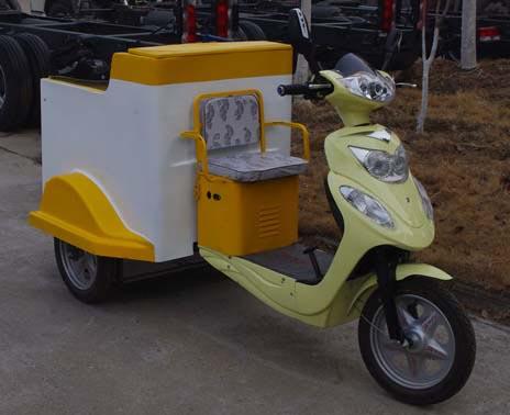 电动垃圾车(240L桶装电动保洁车)