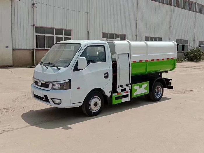 纯电动3.5方自装卸式垃圾车图片