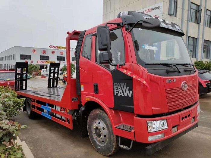 解放J6平板运输车价格¥15.2万视频