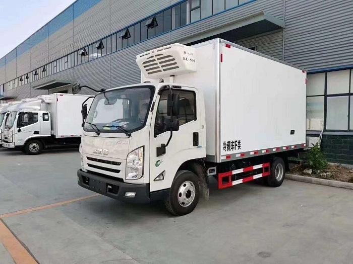 国六江铃凯运冷藏车图片