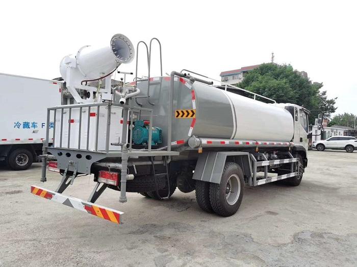 国六福田瑞沃12方喷雾车洒水车