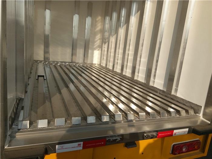 冷藏车5面不锈钢通风槽图片一