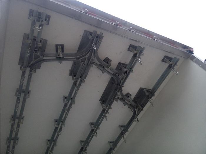冷藏车对接式导轨图片一