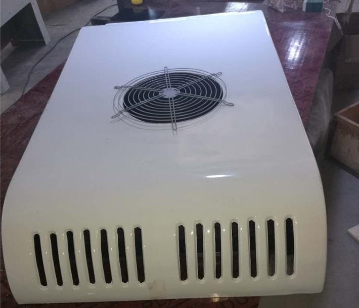 凯利KL180D冷藏机组面包冷藏车顶置备电一体机图片一