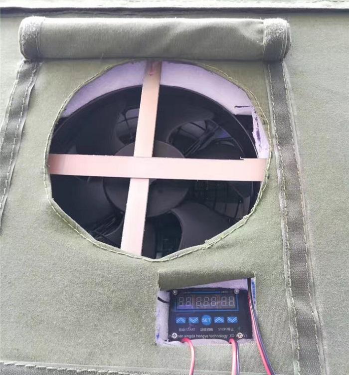 冷藏车厢软隔断图片二