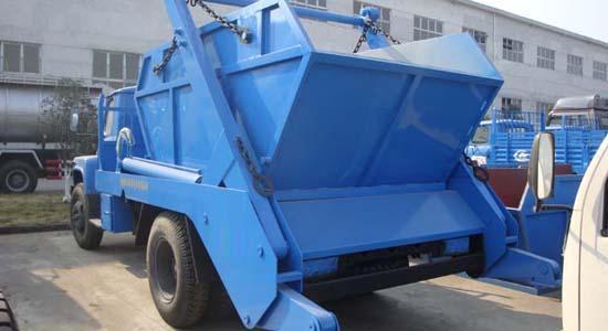 摆臂垃圾车垃圾斗 垃圾箱 垃圾厢 摆臂式垃圾车专用图片二